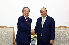 PM receives Japanese firm's chairman