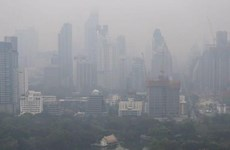 Air pollution worries people in northern Thailand