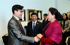 NA leader meets organisers of Vietnam Global Leaders Forum in Paris
