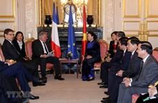 NA Chairwoman: Vietnam regards France as priority partner