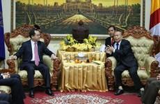 Vietnamese, Cambodian religious officials hold talks
