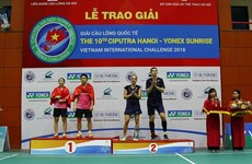 Over 290 athletes to compete in Hanoi badminton tournament