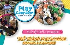 Training course on adventure playground for children held in Hanoi