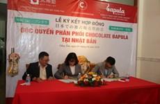 Vietnam exports organic Bapula chocolate to Japan