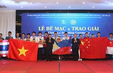 Hanoi math contest wraps up