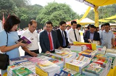 Book fair within Hung Kings Temple Festival framework opens