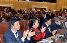 Vietnam attends opening ceremony of IPU-140