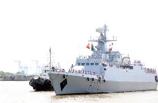 Bangladeshi naval ship starts friendship visit to HCM City