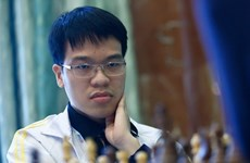 Vietnamese chess player grabs blitz silver at Dubai Open