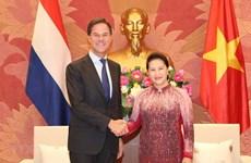 NA Chairwoman meets Dutch Prime Minister