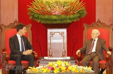 Party, State leader hosts Dutch Prime Minister