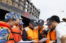 Vietnam Coast Guard contributes to ensuring security in Tonkin Gulf
