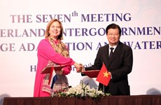Vietnam, Netherlands boost cooperation in climate change adaptation