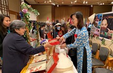 Vietnam participates in charity fair in Japan