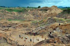 Indonesia: Landslide kills five diamond miners
