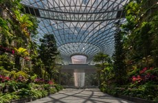 Entertainment complex inaugurated at Singapore's Changi airport