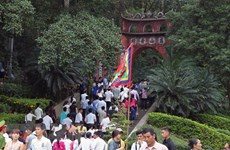 Guarding Hung King Temple once-in-a-lifetime honour