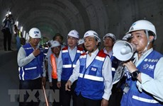PM inspects construction of HCM City's Metro Line No.1