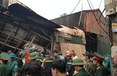 Deputy PM asks to clarity Hanoi workshop blaze cause