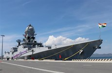 Two Indian naval ships visit Vietnam