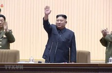 Congratulations to Kim Jong-un on re-election as head of DPRK state panel