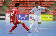Vietnam in Group C at AFC U20 Futsal Championship finals