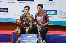 International badminton tournament wraps up in Hanoi
