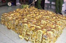 Police seize 600kg of meth in central Nghe An province