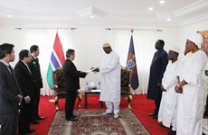 Vietnamese Ambassador presents credentials to Gambian President