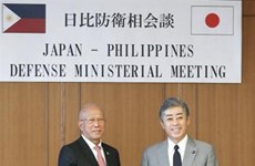 Philippines, Japan pledge to bolster defence cooperation