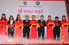 Trade promotion fair for cooperatives opens in HCM City