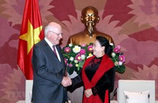 NA Chairwoman affirms Vietnam's ties with US