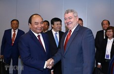 PM meets Communist Party of Bohemia and Moravia leader in Prague