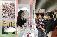Int'l beauty industry exhibition opens in HCM City