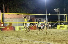 AVC Women's Beach Volleyball Tour opens in Can Tho city