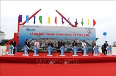Vinh Tan international seaport inaugurated
