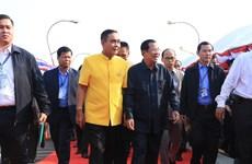 Thai-Cambodian Friendship Bridge completed