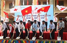 Work on 154 Red Cross houses begins in Hanoi
