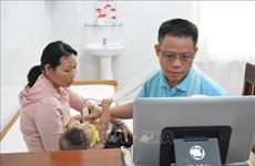 Dak Lak children screened for congenital heart diseases