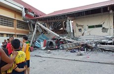 6.3-magnitude quake kills two in Philippines
