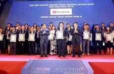 SeABank listed among Vietnam's 500 fastest growing firms