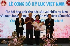 Cherry blossom festival makes Vietnam record