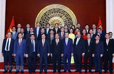 Prime Minister visits Vietnamese Embassy in China