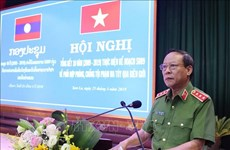 Son La reviews 10-year anti-drug trafficking with north Laos
