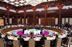 PM attends leaders' roundtable meeting of 2nd Belt and Road Forum