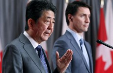 Japanese, Canadian PMs underline benefits of CPTPP