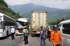 Traffic accidents kill nearly 60 in 3 days of long holiday