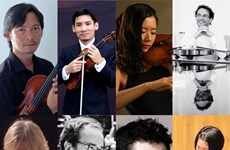 L'Orchestre National de France soloists stage 'Strings Party' concert