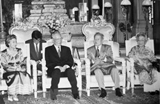 More condolences from abroad over death of former President Le Duc Anh