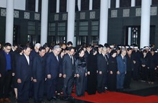 State funeral held for former President General Le Duc Anh